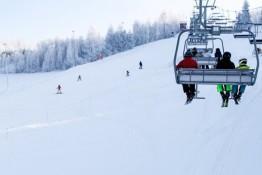 Harbutowice Atrakcja Stacja narciarska Szklana Góra Ski